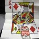 MAGICIANS INSURANCE POLICY Magic Tricks Card Clown Comedy Joke Gag Prediction