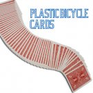 Deluxe PLASTIC COATED RED BICYCLE DECK Playing Cards Magic Trick Poker Game 100%