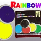 JUMBO RAINBOW CHIPS Color Changing Magic Trick Big Set Beginner Toy Pocket Poker