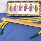 PROFESSORS NIGHTMARE Unequal 3 Three Rope Magic Trick Clown Beginner Pocket Toy