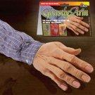 GHASTLY FAKE ARM Sleeve Car Trunk Gag Joke Prank Trick Rubber Old Man Hand Prop
