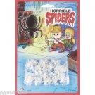 CREEPY GLOW IN THE DARK SPIDERS Pack Set Party Halloween Joke Toy Decoration