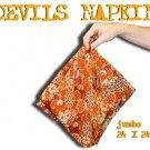 "24"" JUMBO DEVILS NAPKIN Vanishing Magic Trick Change Hank Bag Silk Cloth Stage"