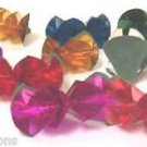10 MYLAR SPRING FLOWERS FROM FINGERTIPS Magic Trick Bare Hand Magician Appearing