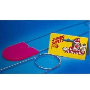 JUMBO SAFETY PIN Baby Shower Clown Joke Prank Gag Prop Giant Gift Diaper Gag Toy