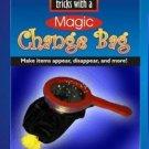 MAGIC CHANGE BAG BOOK Booklet 50 Effects Tricks Clown Kid Show Prop Beginner