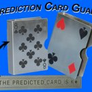 CHROME CARD GUARD PREDICTION Mental Magic Trick Deck
