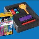 Deluxe BEGINNER MAGIC KIT #11 Set Magician 4 Tricks Coin Paddle Dice Beads Tube