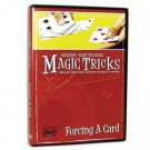FORCING A CARD DVD Learn How To Force Close Up Magic Tricks Easy Beginner Pick
