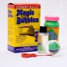 STREET MAGIC BUBBLES Clear Glass Ball Trick Clown Kid Soap Changes Solid Wonder