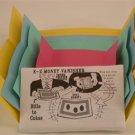 EZ MONEY VANISHER Coin Vanish Envelopes Magic Trick Paper Beginner Pocket Joke