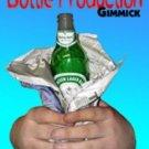 BOTTLE PRODUCTION GIMMICK Silk Magic Trick Clown Beer Plastic Cap Gut Loop Soda