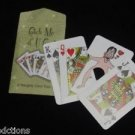 CATCH ME IF YOU CAN Comedy Card Close Up Magic Trick Adult Funny Pocket Finger