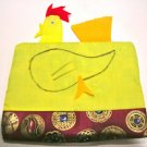 Comedy CHICKEN EGG BAG Classic Magic Trick Deluxe Cloth Funny Puppet Kid Show