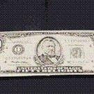 RIPPED AND RESTORED BILL Torn Dollar Money Magic Trick Pocket Bar Restore Rip