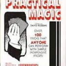 PRACTICAL MAGIC BOOK Over 100 Tricks Mental Close Up Stage Card Coin Learn Vent
