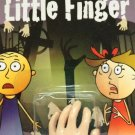 SIXTH LITTLE FINGER JOKE Latex Rubber Hand Puppet Gag Halloween Toy Magic Trick