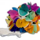 GLOVES TO BOUQUET Spring Flowers Magic Trick Clown Appearing Vanishing White Gag