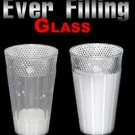 EVER-FILLING LOCKING GLASS Magic Tricks Clown Prop Plastic Cup Refill Liquid