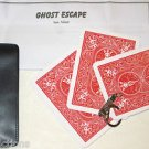 ADAIRS BICYCLE GHOST ESCAPE CARDS Close Up Magic Trick Pocket Key Chain Haunted