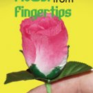 Deluxe ROSE FLOWERS FROM FINGERTIPS Magic Trick Appearing Vanishing Hand Repeat