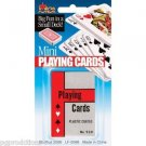 Gift MINI PLAYING CARDS Tiny Deck Magic Trick Jokes Gag Poker Game Toy Small