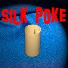 ALUMINUM SILK POKE Metal Utility Tube Vanishing Magic Trick Magician Hand Prop