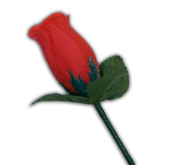 Deluxe APPEARING & VANISHING CLOTH ROSE Flower Magic Trick Magician