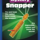 Deluxe WOODEN JUMBO SNAPPER Mystery Toy Joke Gag Magic Trick Wood Puzzle Pocket