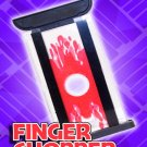Modern LOCKING FINGER CHOPPER Cutter Magic Trick Guillotine Clear Pocket Joke