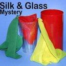 SILK & MIRROR GLASS MYSTERY Magic Trick Clown Tube