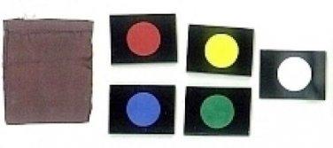 MENTAL COLOR BLOCKS MAGIC TRICK Domino Spots Close Up Prediction Mind Reader
