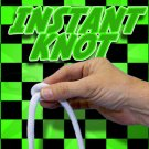 INSTANT APPEARING KNOT OFF ROPE Comedy Pops Off & Appears Modern Magic Trick Gag