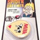 SPIDER IN CREAMER JOKE Bug Fake Cream Coffee Milk Prank Toy Gag Scary Halloween