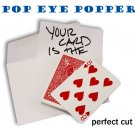 POP EYE POPPER RED BICYCLE DECK Playing Cards Magic Trick Perfect Cut Prediction