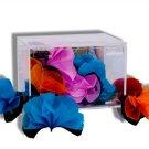 MILLENNIUM CLEAR PRODUCTION CASKET + Spring Flowers Box Change Magic Trick Silks
