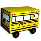 Deluxe MAGIC SCHOOL BUS DRAWER BOX Rabbit Dove Animal Production Kid Stage Trick