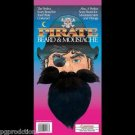 PIRATE BEARD MUSTACHE Costume Fake Moustache Viking