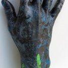 BIOHAZARD ZOMBIE MONSTER SEVERED HAND Costume Halloween Body Part Fake Prop Cut