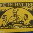 Comedy CAKE IN HAT TRICK Secret Only Production Stage Magic Clown Kid Show Chef