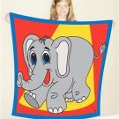 "Jumbo ELEPHANT PRODUCTION SILK 45"" FOULARD Stage Magic Trick Scarf Magician Big"