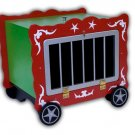CIRCUS WAGON Rabbit Animal MAK Box Stage Magic Trick Illusion Production Balloon
