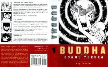 BUDDHA - OZAMU TEZUKA ALL 8 VOLUMES COMPLETE