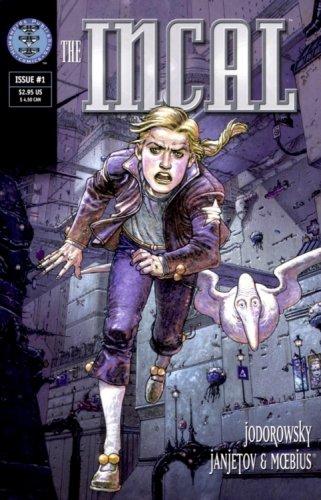 HUMANOIDS COMICS- Incal, Metabarons..more European comics in English