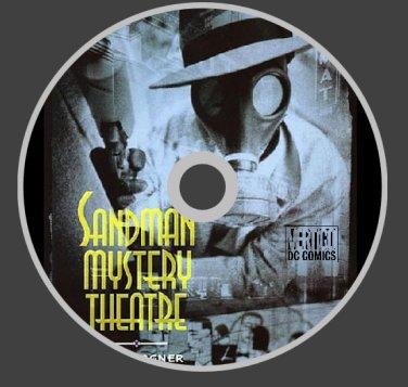 SANDMAN MYSTERY THEATRE COMICS 70+ ISSUES DVD DIGITAL