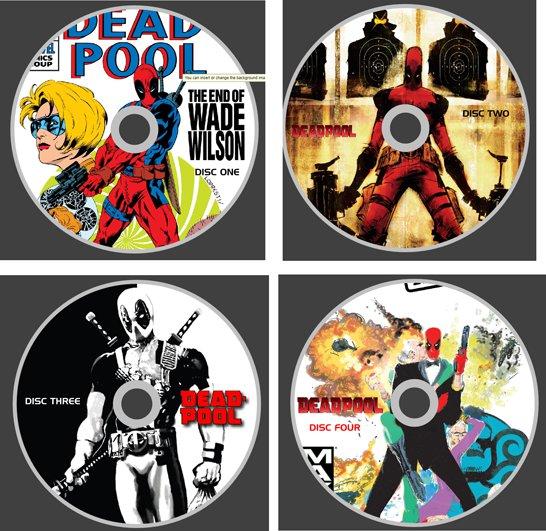 DEADPOOL COMICS 400+ ISSUES ON DVD