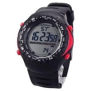 New Men�s Multi Function Black & Red Digital Watch