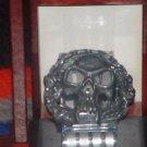 New Skull of Evil Metal Pewter Finish Belt Buckle