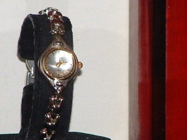 Ladies London Gold & Silver Dress Watch