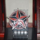 Pre-Owned  2002  Great American Products Red & Black Star Belt Buckle